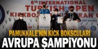 Pamukkale Belediyespor'un kick boksçularından büyük başarı