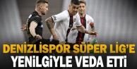 Denizlispor, Süper Lige yenilgiyle veda etti