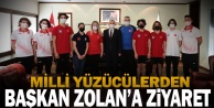 Millilerden Başkan Zolan#039;a ziyaret
