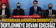 AK Parti Denizli İl Başkanı Yücel Güngörden basın buluşması