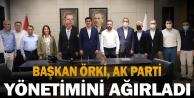 Başkan Örki, AK Parti yönetimini ağırladı
