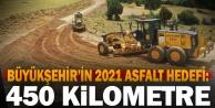 Büyükşehir#039;den yeni sezonda 450 km asfalt