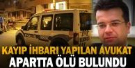 Denizli#039;de kayıp ihbarı yapılan avukat ölü bulundu