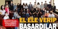 Başkan Zolan, Eğitim İçin El Ele projesi ile üniversiteli olan gençlerle buluştu