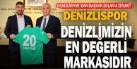 Denizlispor#039;dan Başkan Zolana ziyaret