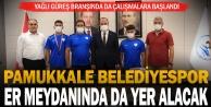 Pamukkale Belediyespor er meydanında da yer alacak