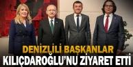 CHP'li başkanlardan Kılıçdaroğlu'na ziyaret