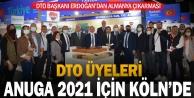 DTO Üyeleri, Anuga 2021 İçin Kölnde