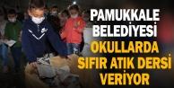Pamukkale Belediyesi'nden sıfır atık etkinliği