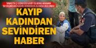 Tavas#039;ta iki gündür aranan kadın ormanda bulundu