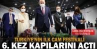 Türkiye#039;nin ilk cam festivali 6. kez kapılarını açtı
