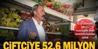 Şahin Tin, mazot ve gübre destek ödemelerinin başladığını açıkladı