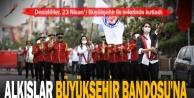 Denizlililer, 23 Nisan'ı Büyükşehir ile evlerinde kutladı