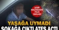 Denizli'de sokakta havaya ateş eden şüpheli yakalandı