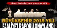 Büyükşehir 2019 yılı Faaliyet Raporu onaylandı