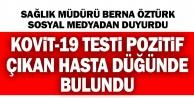 Koit-19 testi pozitif çıkan hasta Muğla'da düğünde bulundu
