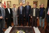 Başkan Zolan'dan gazetecilere: Her zaman yanınızdayız