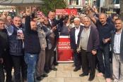 MHP'liler 'evet' standı açtı