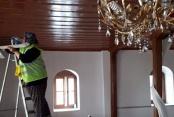 Bozkurt'ta camilerde Ramazan temizliği