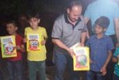 Merhum Erbakan'ın çocukluğu kitap oldu, çocuklara hediye edildi