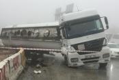 Sis ve yağmur kazası