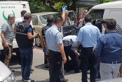 Seyyar pazarcı aracının içinde ölü bulundu