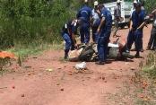 Şarampole devrilen motosikletin sürücüsü öldü