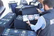 Polis, kaçak yollarla satılan bin 362 adet gözlüğe el koydu