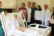 85 yaşındaki hasta kalp piliyle hayata tutundu