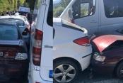 Düğün konvoyunda kaza: 5 yaralı