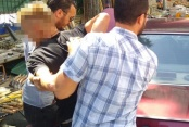 Çivril'de polis kovalamacası