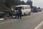 Akköy-Develi yolunda kaza: 2 yaralı