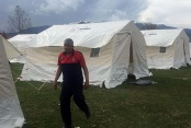 10 köye 600 çadır kuruldu