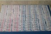 52 bin liralık sahte para yakalandı