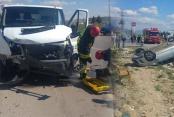 Acıpayam'da kaza: 4 kişi yaralandı