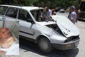 Otomobili ile uçuruma yuvarlanan eski muhtar ölümden döndü