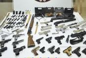 Kaçak silah atölyesine baskında 1 kişi tutuklandı