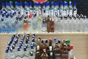 169 litre kaçak alkol ele geçirildi