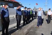 Vali Karahan'dan çalışanlara bayram ziyareti