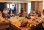 Pamukkale Belediye Başkanı Örki gazetecileri ağırladı