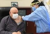 Buldan Başkan Şevik aşısını oldu