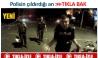 Polislerin gazetecilere isyanı