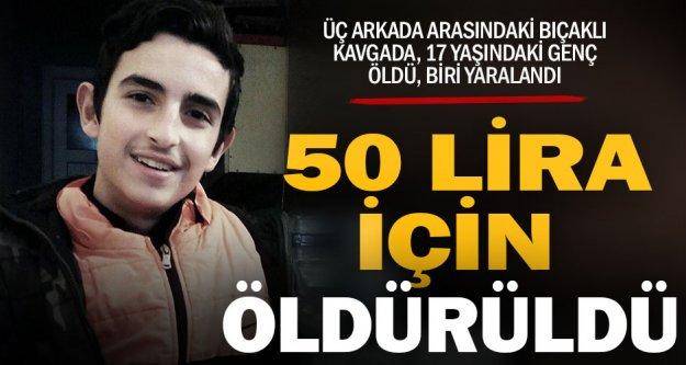 Emirhan, 50 lira için öldürüldü