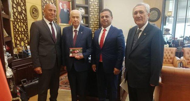 MHP Lideri Bahçeli'ye Çal'dan davet