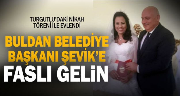 Buldan Belediye Başkanı Şevik evlendi