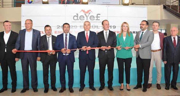 Denizli 2. Emlak ve Yapı Endüstri Fuarı DEYEF Açıldı