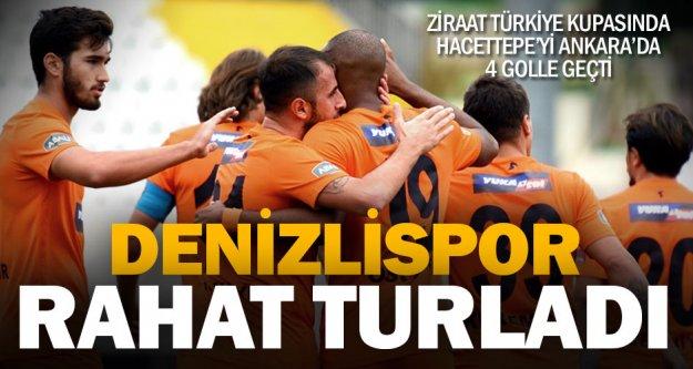 Denizlispor, Türkiye Kupasında tur atladı