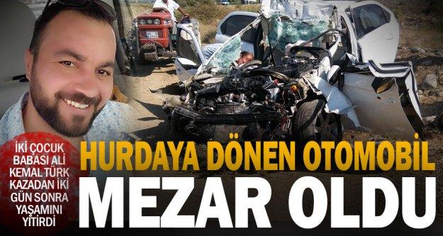 İki çocuk babası sürücü, kazadan 2 gün sonra öldü