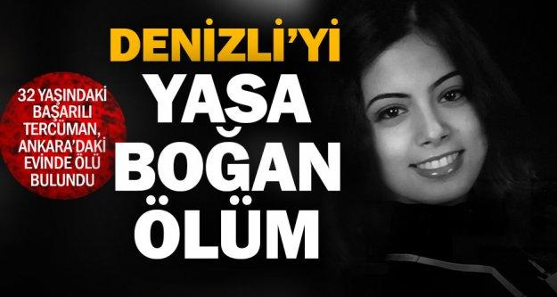 32 yaşındaki Denizlili tercüman Ankara'daki evinde ölü bulundu