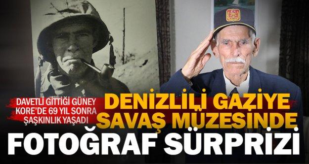 Güney Kore'deki savaş müzesinde, Türk gaziyi şaşırtan fotoğraf